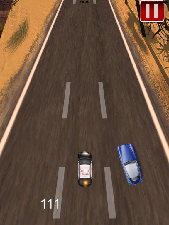 Car Police Running simulator – Awesome Vehicle High Impact screenshot 9