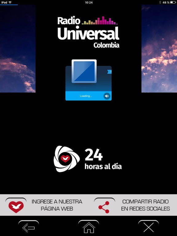Radio Universal Colombia screenshot 4