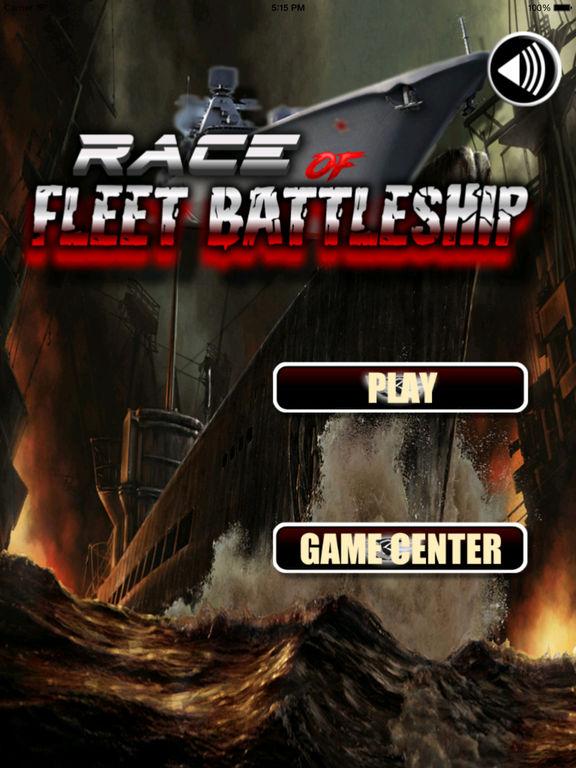 Race Of Fleet Battleship - Game! Fast-paced Naval Warfare! screenshot 6