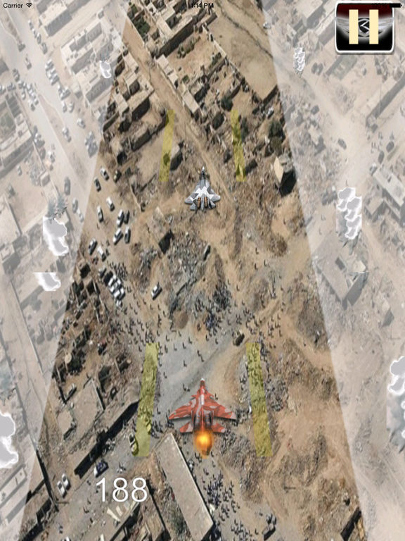 Flight Simulator Aircraft - Airplane Carrier Landing Lite Game screenshot 7