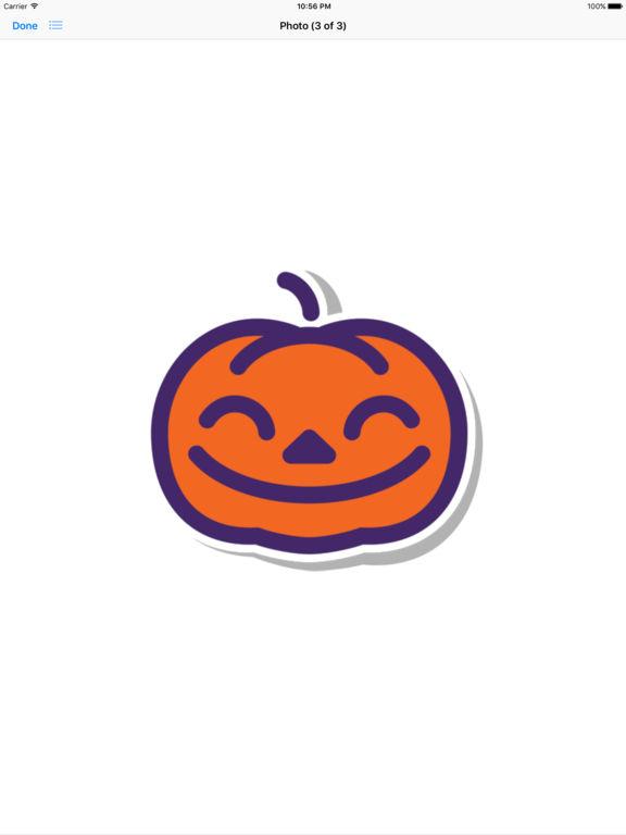 Ibbleobble Halloween Stickers screenshot 6