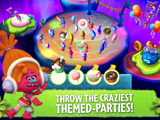 Trolls: Crazy Party Forest! screenshot 9