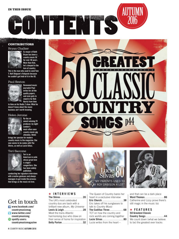 Country Music Magazine screenshot 8
