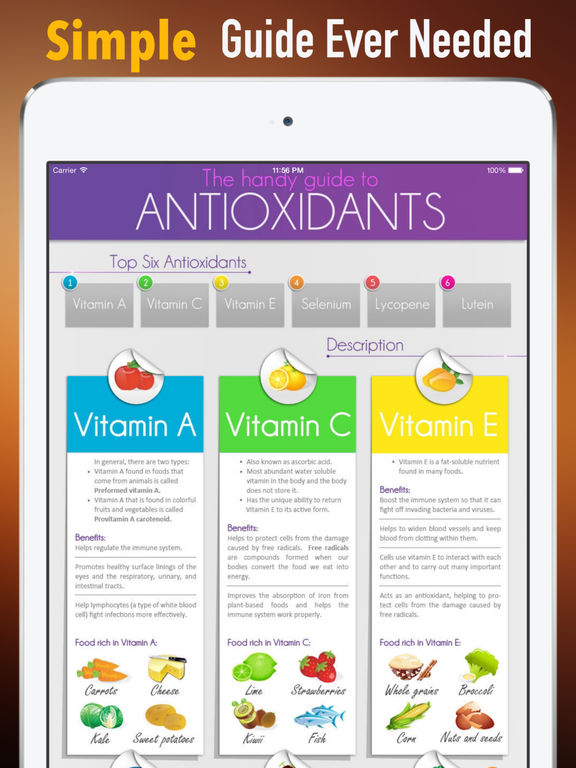 Antioxidants:Health and Nutrition screenshot 7