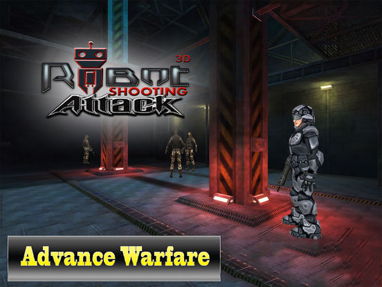 Robot Shooting Attack 3D : New Free Game screenshot 6