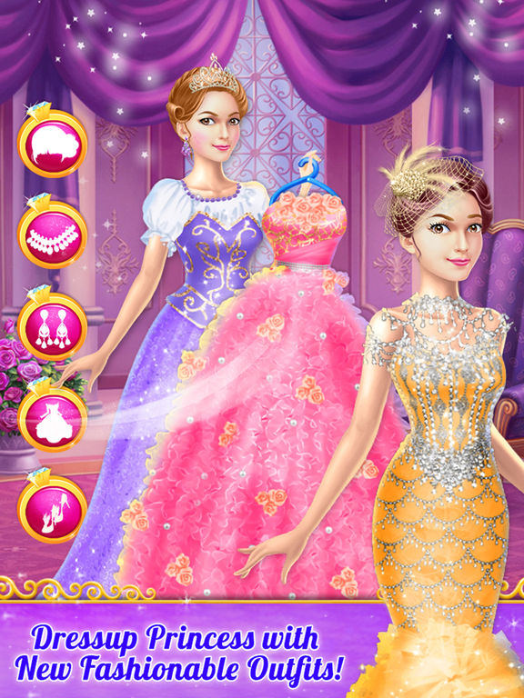 Beauty Princess Doll Makeover screenshot 10