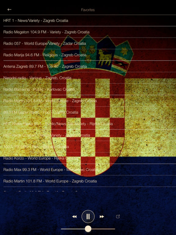 Croatia Music ONLINE Radio from Zagreb | Apps | 148Apps