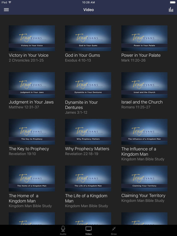 Tony Evans Sermons screenshot 5