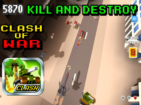Clash of war! screenshot 8