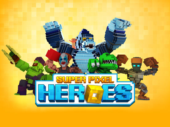 Super Pixel Heroes 2019 screenshot 6