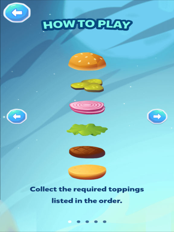 Stack the Burger [food raining edition] screenshot 8