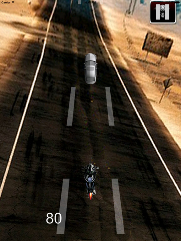 A Race Motorcycle Driver - Awesome Highway Rider Game screenshot 9