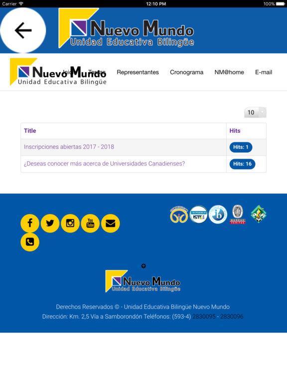 Nuevo Mundo APP screenshot 7