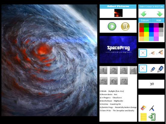 Oceanic Prog (Progressive Metal/Rock/Djent Album and Coloring) Side 1 screenshot 8