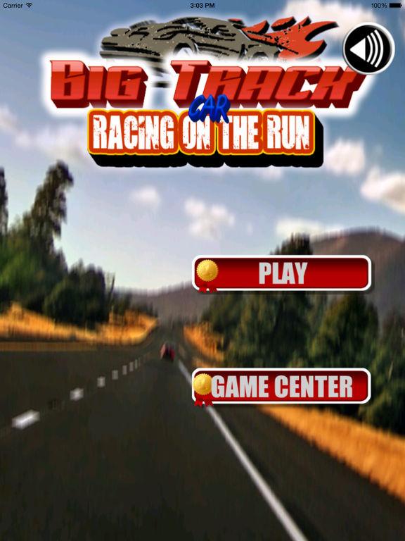 Big Track Car Racing On The Run Pro - Maximum Speed Game screenshot 6