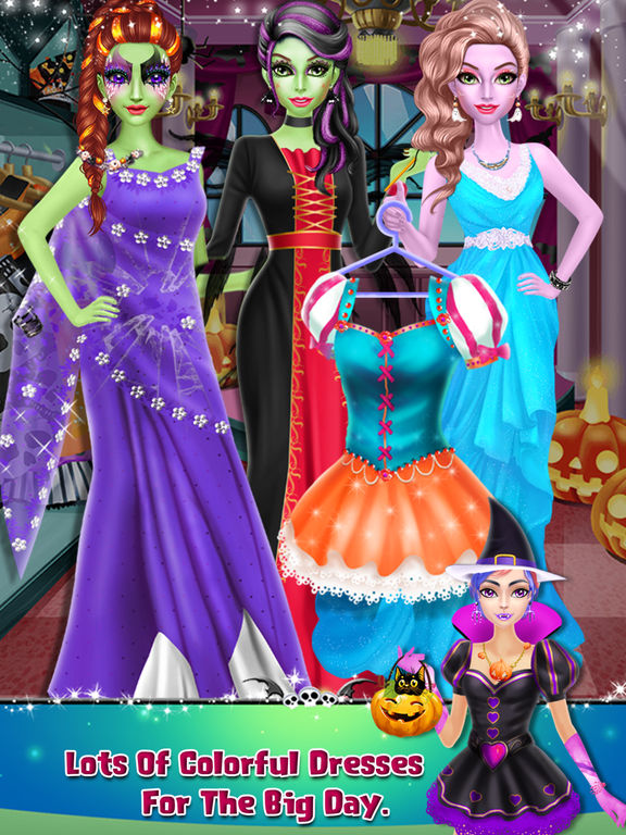Halloween Scary Girl Makeover screenshot 6