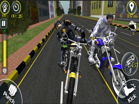 Bike Stunt Fight - Attack Race screenshot 5