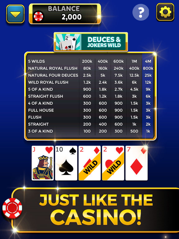 Video Poker: Royal Flush screenshot 9