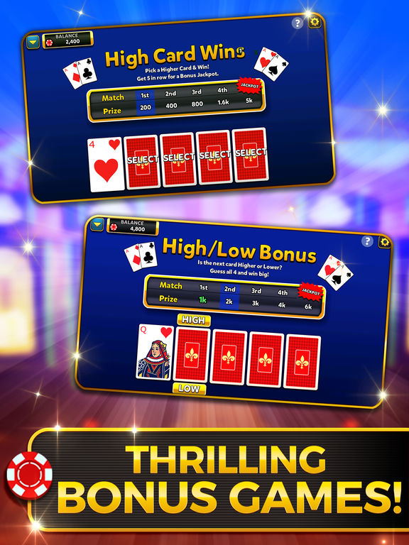Video Poker: Royal Flush screenshot 7