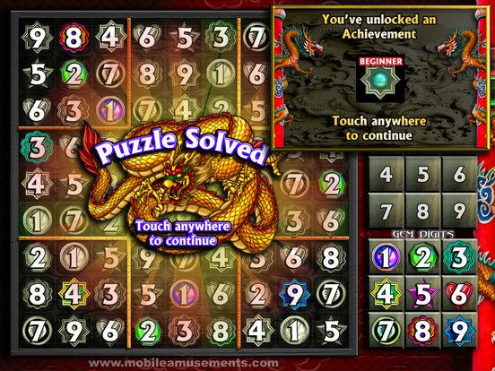 Sudoku Dragon Gems screenshot 8