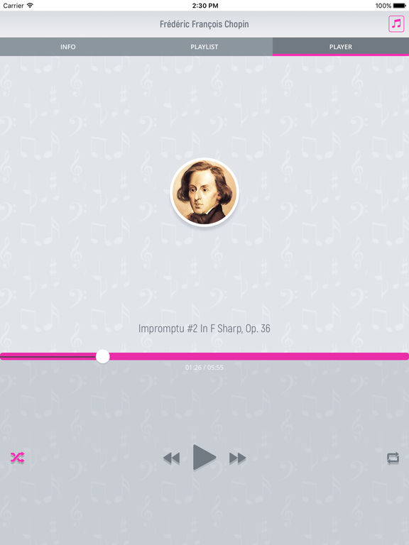 Frederic Chopin - Classical Music Full screenshot 8