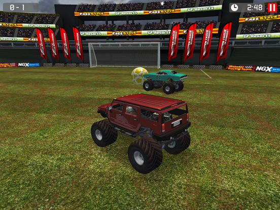 Monster Truck Soccer screenshot 10
