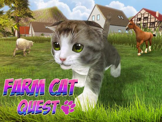 Farm Cat Simulator: Animal Quest 3D screenshot 5