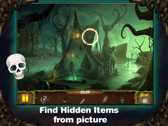 Halloween Mystery Hidden Objects screenshot 8