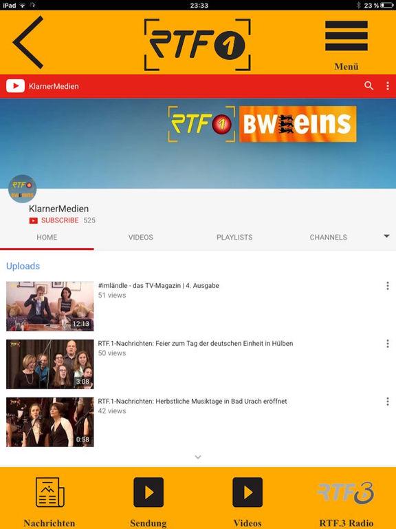 RTF.1 Regionalfernsehen screenshot 6