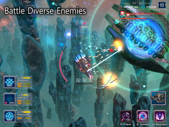 Battleship Lonewolf: Space Shooter screenshot 9