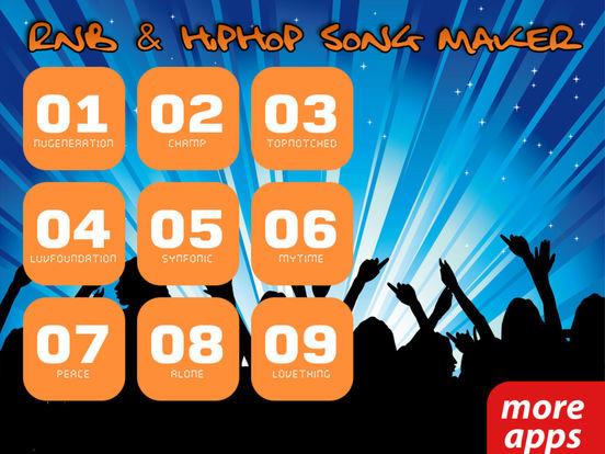 R'n'B and Hip Hop Song Maker (Premium) screenshot 6
