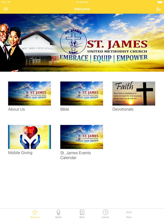 St. James UMC Alpha screenshot 4