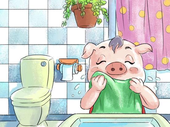 《小猪照镜子》经典绘本有声故事 screenshot 10