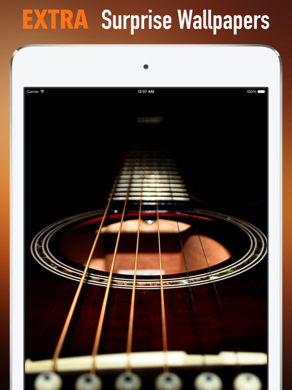 Guitars Wallpapers HD: Quotes Backgrounds with Art Pictures screenshot 8