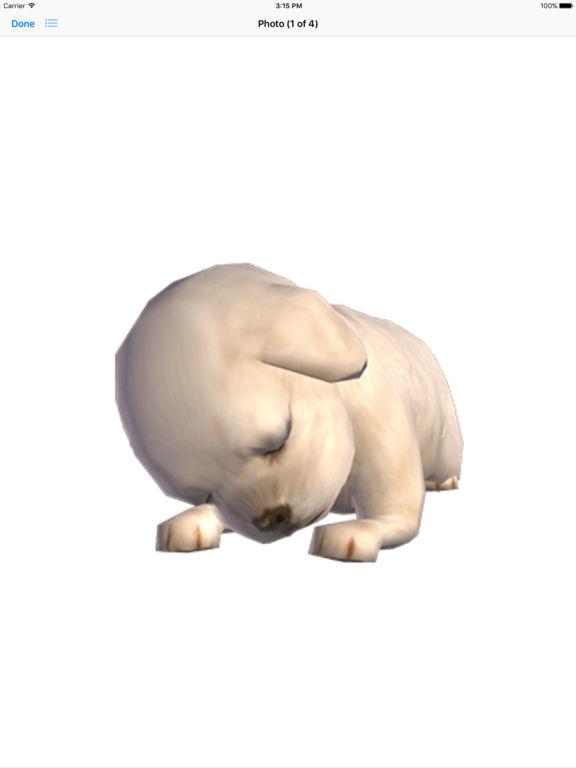 Cocker Spaniel - Animated Stickers screenshot 7