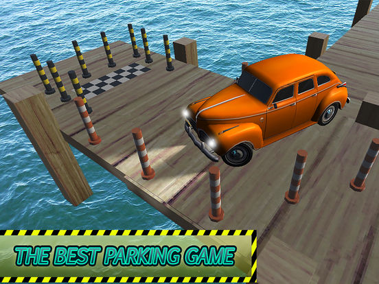 Classic Car Parking Simulator 2016 screenshot 7