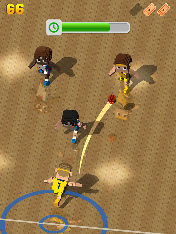 Blocky Basketball FreeStyle screenshot 8