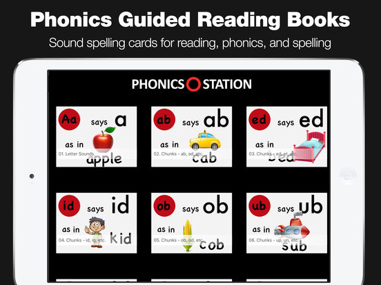 Phonics Station for Guided Reading & Articulation screenshot 6