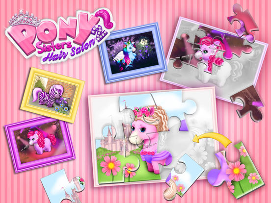 Pony Sisters Hair Salon 2 - Pet Horse Makeover Fun screenshot 10