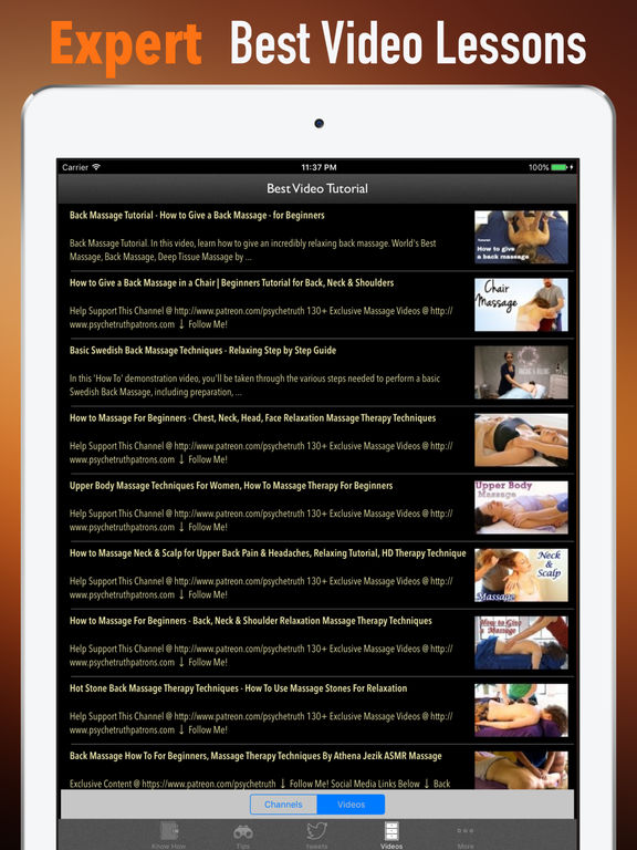 Back Massage 101-Study Tips and Health Tutorial screenshot 7
