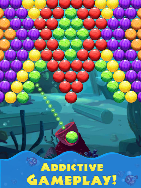 Bubble Shooter Sea screenshot 9