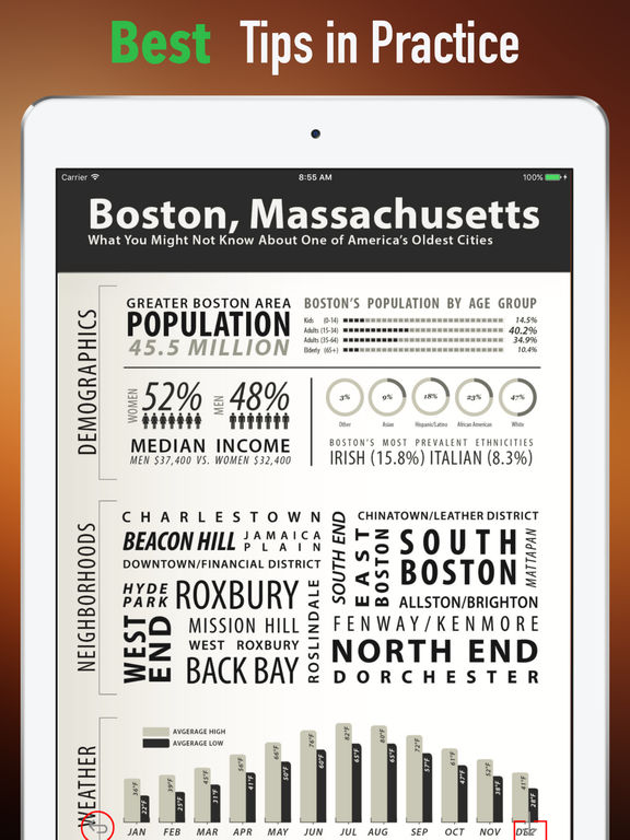 Boston Tour Guide-Best Offline Maps screenshot 9