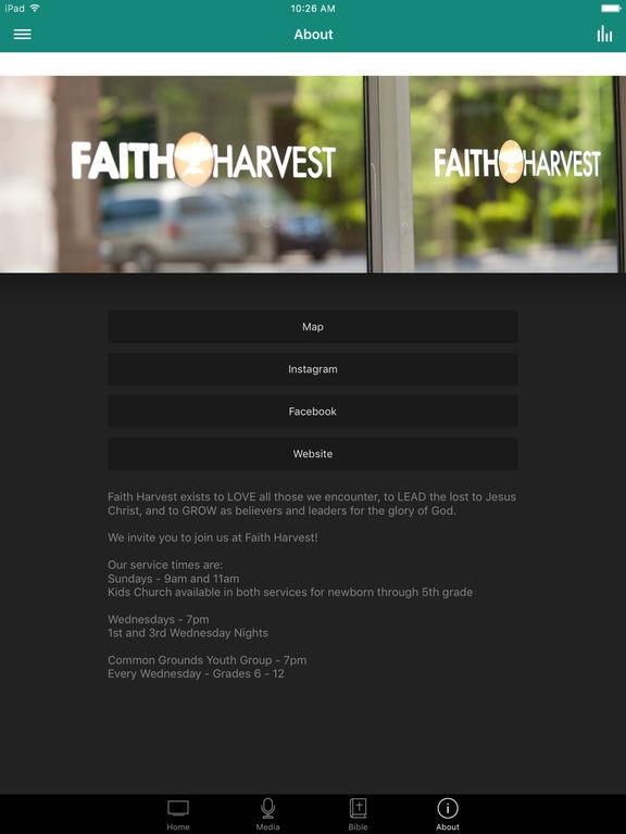 Faith Harvest Church screenshot 6