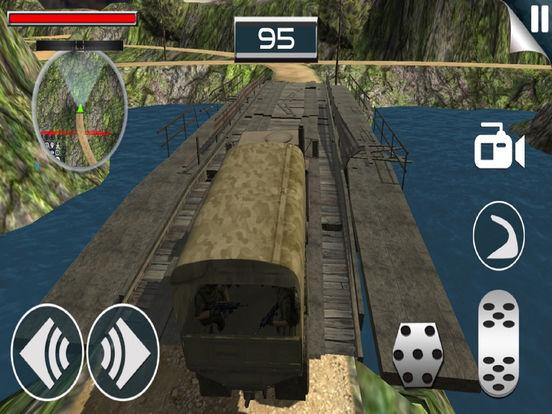 Army Death Parking Track : War Zone screenshot 6