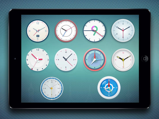 World Clock 2 for colorful clock, world map, time screenshot 10