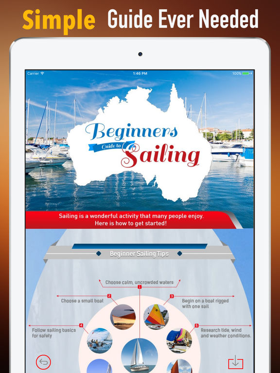 Sailing Beginners Guide-Glossary and News Update screenshot 6