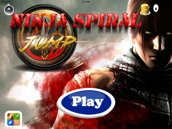 A Ninja Spiral Jump Pro - Amazing Jumping Mobile Game screenshot 6