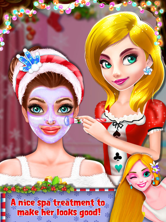 Christmas Prom Girl Salon screenshot 8