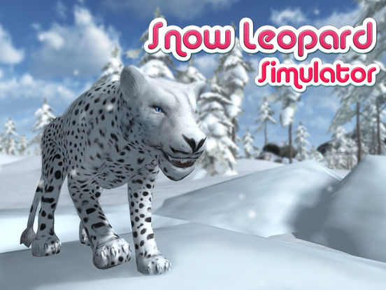 Wild Snow Leopard: Animal Simulator screenshot 5