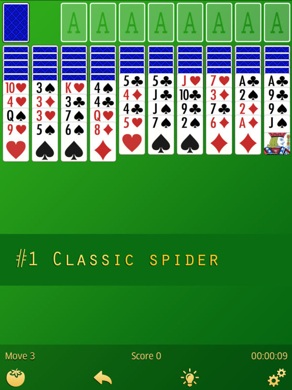 Spider Sοlitaire screenshot 4